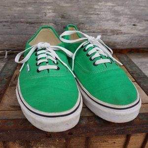 Vans Bright Green TB4R Off the Wall Low Top Laceup